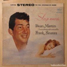 Discos de vinil: LP DEAN MARTIN & FRANK SINATRA - SLEEP WARM. Lote 218752585