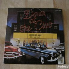 Discos de vinilo: SINGLE DOWN AT THE CLUB MARCELS/ JAMES DARREN ZAFIRO PROMO ROCK & ROLL. Lote 218759077
