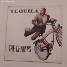 Discos de vinilo: THE CHAMPS - TEQUILA - MAXI-SINGLE. TDKDA74. Lote 218763586