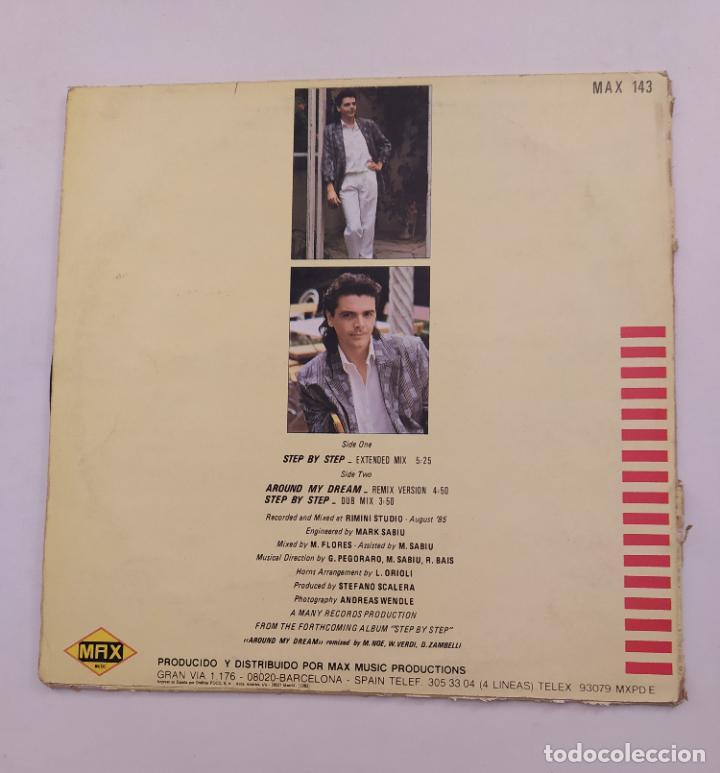 Discos de vinilo: SILVER POZZOLI.- STEP BY STEP.- MAXI-SINGLE. TDKDA74 - Foto 3 - 218764496