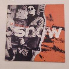 Discos de vinilo: SNOW. - 12 INCHES OF SNOW. LP. TDKDA74. Lote 218771722