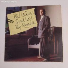 Discos de vinilo: PHIL COLLINS. - DON'T LOSE MY NUMBER. MAXI SINGLE. TDKDA74. Lote 218772820