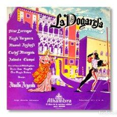 Discos de vinilo: LA DOGARESA - DIRECTOR ATAULFO ARGENTA - DISCOS ALAMBRA - 1966. Lote 218773791