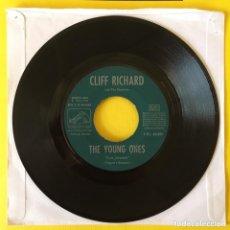 Discos de vinilo: CLIFF RICHARD THE SHADOWS THE YOUNG ONE JUKEBOX SINFONOLA MUY RARO 1962 ESPAÑA. Lote 218775082
