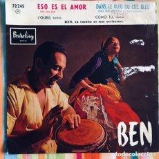 Discos de vinilo: BEN SA TUMBA ET SON ORCHESTRE EP BARCLAY. Lote 218777183