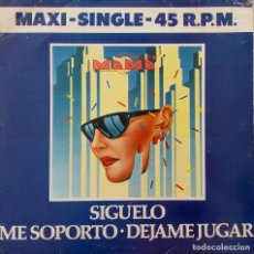 Discos de vinilo: MAMA. SIGUELO. MAXISINGLE 3 TEMAS. Lote 218777507