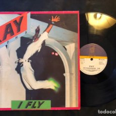 Discos de vinilo: RAY RIDHA ?– I FLY SYNTH-POP DISCOS GAMES 1986. Lote 218779558