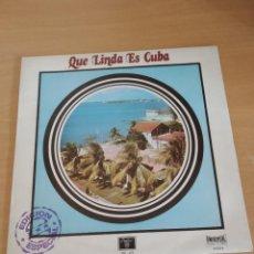 Disques de vinyle: PLACIDO DOMINGO CON LA ROYAL PHILARMONIC ORCHESTRA, THE SONG OF ERNESTO LECUONA. Lote 218780228