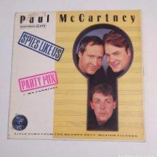 Discos de vinilo: PAUL MCCARTNEY. SPIES LIKE US. MAXI SINGLE. TDKDA74. Lote 218786333