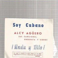 Discos de vinilo: ALCY AGUERO SOY CUBANO. Lote 218788262