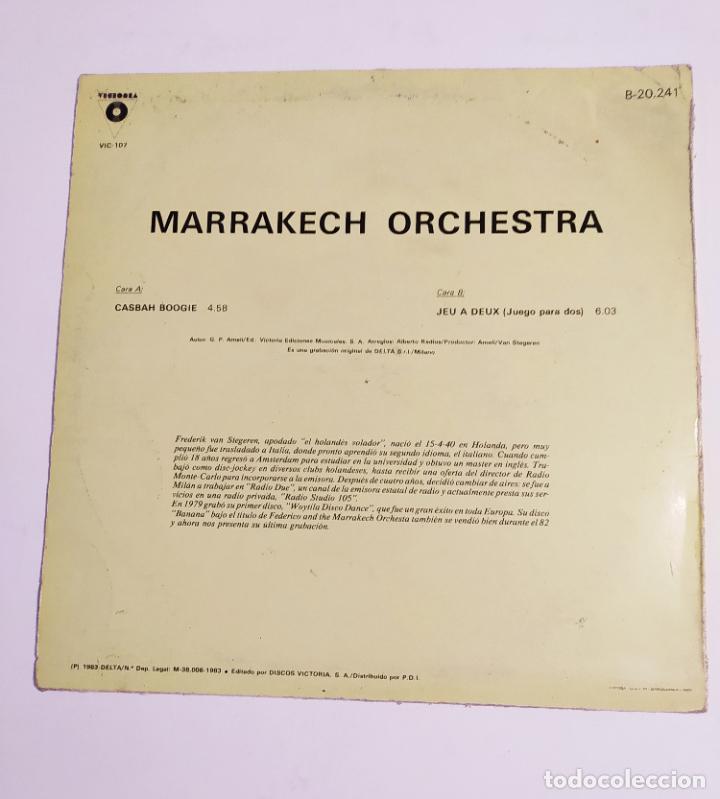 Discos de vinilo: MARRAKECH ORCHESTRA. CASBAH BOOGIE. MAXI SINGLE. TDKDA74 - Foto 3 - 218789740