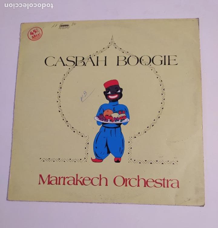 MARRAKECH ORCHESTRA. CASBAH BOOGIE. MAXI SINGLE. TDKDA74 (Música - Discos de Vinilo - Maxi Singles - Orquestas)