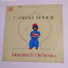 Discos de vinilo: MARRAKECH ORCHESTRA. CASBAH BOOGIE. MAXI SINGLE. TDKDA74. Lote 218789740