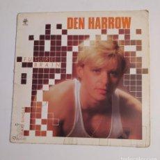 Discos de vinilo: DEN HARROW. - FUTURE BRAIN-. MAXI SINGLE. TDKDA74. Lote 218790115