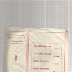 Discos de vinilo: LOS CORALES MUÑECA CHOCOLATINA. Lote 218790892