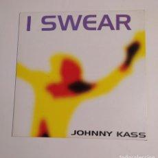 Discos de vinilo: JOHNNY KASS. - I SWEAR. MAXI SINGLE. TDKDA74. Lote 218791702