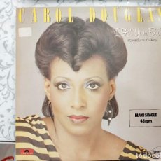 """Discos de vinilo: CAROL DOUGLAS - I GOT YOUR BODY / GOT YA WHERE I WANT YA (12"""") SELLO:POLYDOR 13 971-1. COMO NUEVO. Lote 218791980"""