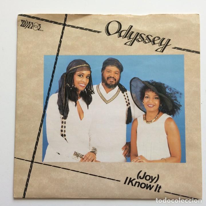 ODYSSEY – (JOY) I KNOW IT UK 1985 MIRROR (Música - Discos - Singles Vinilo - Funk, Soul y Black Music)