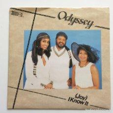 Discos de vinilo: ODYSSEY – (JOY) I KNOW IT UK 1985 MIRROR. Lote 218793407