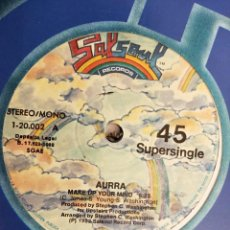 "Discos de vinilo: AURRA - MAKE UP YOUR MIND / CHECKING YOU OUT (12"", MAXI) SELLO:SALSOUL RECORDS 1-20.002.VINILO NUEVO. Lote 218794215"