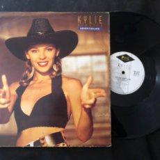Discos de vinilo: KYLIE MINOGUE – NEVER TOO LATE SYNTH-POP 1989. Lote 218794360