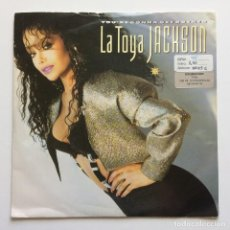 Discos de vinilo: LA TOYA JACKSON ( YOU'RE GONNA GET ROCKED - DOES IT REALLY MATTER ) UK 1988 SINGLE 45. Lote 6908218