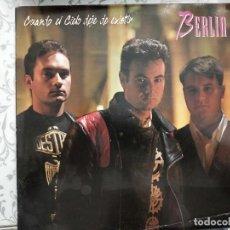 """Discos de vinilo: BERLIN - CUANDO EL CIELO DEJE DE EXISTIR (12"""", MAXI) SELLO:MAX MUSIC CAT. Nº: NM598MA. VINILO NUEVO. Lote 218794760"""