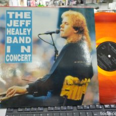 Discos de vinilo: THE JEFF HEALEY BAND IN CONCERT LUXEMBURGO VINILO ROJO. Lote 218797041