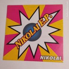 Discos de vinilo: NIKOLAI E.P. MAXI SINGLE. TDKDA74. Lote 218798568