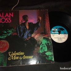 Discos de vinilo: ALAN ROSS ?– VALENTINO MON AMOUR ITALO-DISCO. Lote 218799705