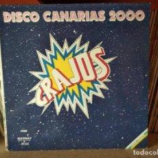 Discos de vinilo: GRAJOS - DISCO CANARIAS 2000. Lote 218800428