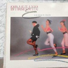 """Discos de vinilo: OBJETIVO BIRMANIA - EN UN RINCÓN DEL CORAZÓN / TITUBEO (12"""", MAXI) SELLO:WEA MS 248912·COMO NUEVO. Lote 218800862"""
