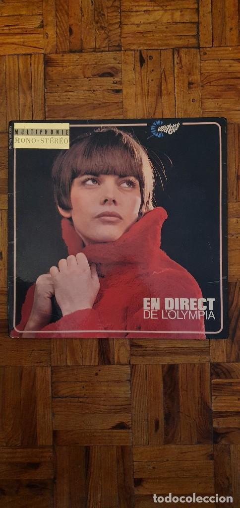 MIREILLE MATHIEU – EN DIRECT DE L'OLYMPIA SELLO: BARCLAY – 80 330 S, BARCLAY – BLY 80.330 LP (Música - Discos - LP Vinilo - Canción Francesa e Italiana)
