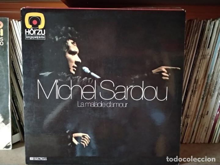 MICHEL SARDOU ?– LA MALADIE D'AMOUR (Música - Discos - LP Vinilo - Canción Francesa e Italiana)