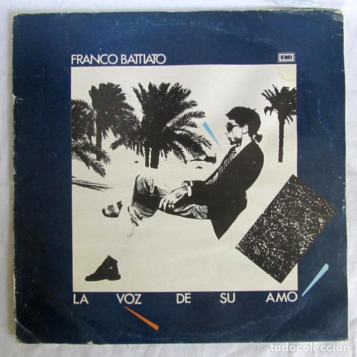 LP VIINLO FRANCO BATTIATO, LA VOZ DE SU AMO (Música - Discos - LP Vinilo - Canción Francesa e Italiana)