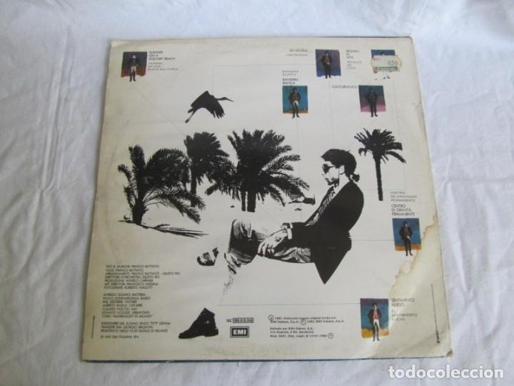 Discos de vinilo: LP viinlo Franco Battiato, la voz de su amo - Foto 2 - 218810903