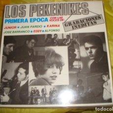 Discos de vinilo: LOS PEKENIKES. PRIMERA EPOCA. GRABACIONES INEDITAS. ALLIGATOR, 1984. IMPECABLE (#). Lote 218811028