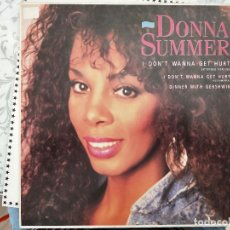 "Discos de vinilo: DONNA SUMMER - I DON'T WANNA GET HURT (EXTENDED VERSION) (12"") WARNER BROS. 257 566-0, COMO NUEVO. Lote 218813478"
