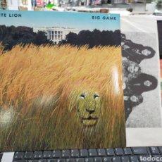 Discos de vinilo: WHITE LION LP BIG GAME U.S.A 1989 EN PERFECTO ESTADO. Lote 218817840
