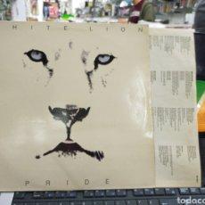 Discos de vinilo: WHITE LION LP PRIDE ESPAÑA 1987. Lote 218820807