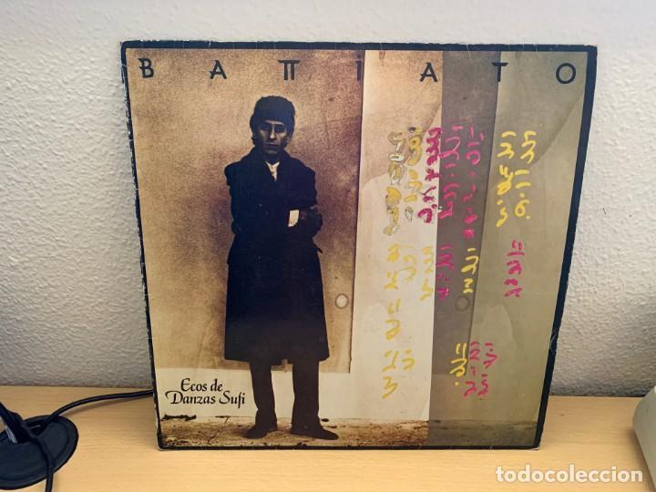 BATTIATO – ECOS DE DANZAS SUFI. DISCO VINILO. 1985. ENTREGA 24H (Música - Discos - LP Vinilo - Canción Francesa e Italiana)