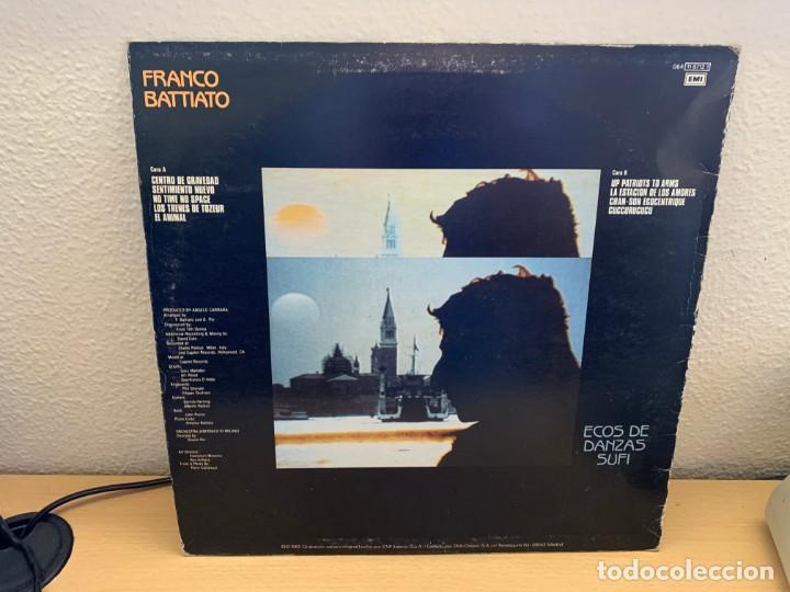 Discos de vinilo: Battiato – Ecos De Danzas Sufi. DISCO VINILO. 1985. ENTREGA 24H - Foto 2 - 218821391