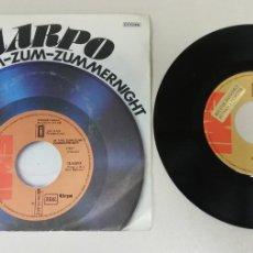 Discos de vinilo: 0920- HARPO IN THE ZUM ZUM - VIN 7 SINGLE P G DIS NM. Lote 218822307