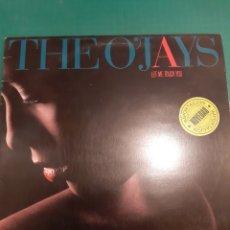 Discos de vinilo: LP THE O.JAYS LET ME TOUCH YOU. Lote 218822556