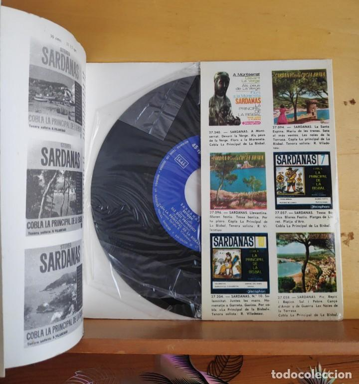 Discos de vinilo: COBLA LA PRINCIPAL DE LA BISBAL - SINGLE - SARDANAS AÑOS 60 - Foto 2 - 218822831