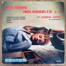 Discos de vinilo: COOKIE CARR Y SU CONJUNTO EP BELTER AÑO 1959. Lote 218824023