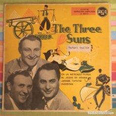 Discos de vinilo: THE THREE SUNS RCA ESPAÑA BIEN CONSERVADO. Lote 218825597