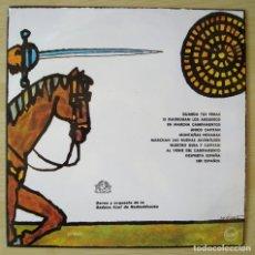 Discos de vinilo: CANCIONERO DEL FRENTE DE JUVENTUDES (VOL. 2) - LP ORIGINAL ESPAÑA 1963 DONCEL. Lote 218828641