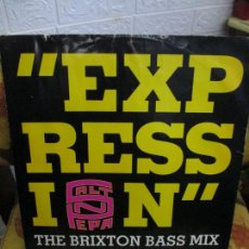 Discos de vinilo: SALT 'N' PEPA ?– EXPRESSION (THE BRIXTON BASS MI. Lote 218829347