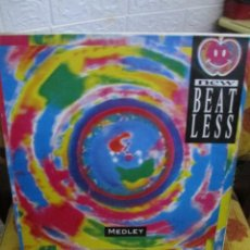 Discos de vinilo: NEW BEAT LESS ‎– MEDLEY. Lote 218830442